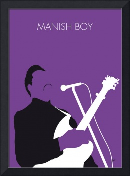 No061 MY Muddy Waters Minimal Music poster