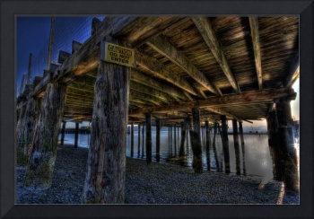 The old dock in Langley