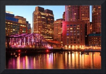 Harbor Lights in Boston Massachusetts
