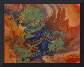Contemporary Abstract Painting -  Once Upon A Time