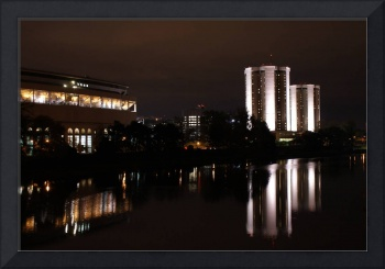 Ohio Stadium, Lincoln and Morrill towers