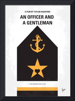 No388 My An Officer and a Gentleman minimal movie