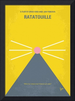 No163 My Ratatouille minimal movie poster