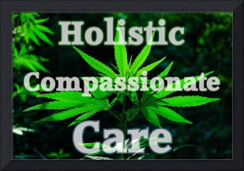Holistic Compassionate Care sign
