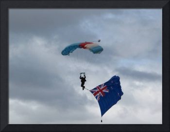 RNZAF Parachute Team Warbirds over Wanaka 2010 NZ