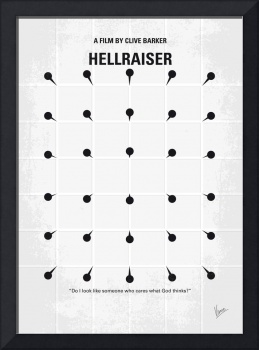 No033 My HELLRAISER minimal movie poster