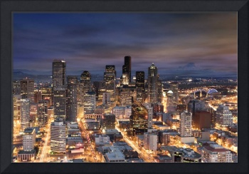 Seattle at Dusk.