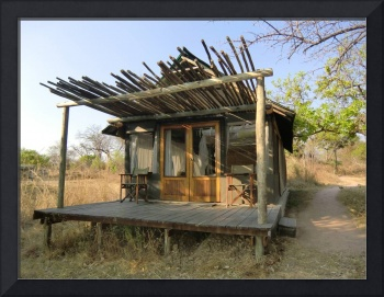 Hut in Zambia 1
