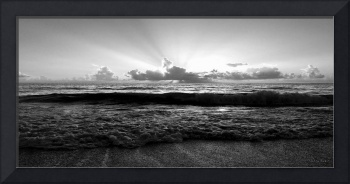 Treasure Coast Florida Tropical Seascape Sunrise A