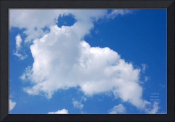 Cloud Bunny Photo