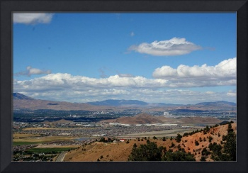 Downtown Reno from Geiger Grade