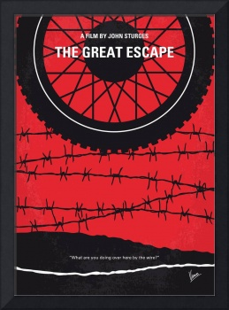 No958 My The Great Escape minimal movie poster