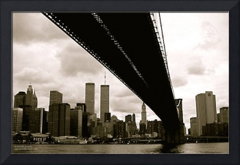 The Bridge, New York, September 8, 2001