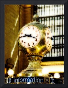Brass Clock at Grand Central Terminal