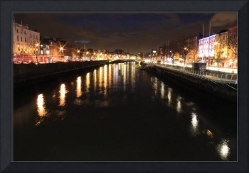 The River Liffey at Night