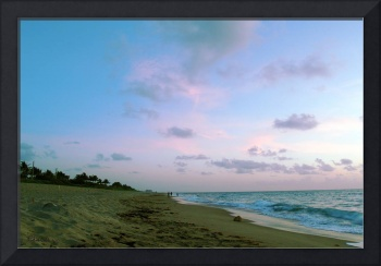 Treasure Coast Florida Sunrise Seascape C7
