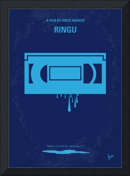 No070 My Ringu minimal movie poster