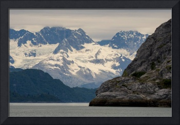 Gloomy Knob and Upper Glacier Bay