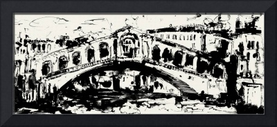 Rialto Bridge From original painting by Ginette