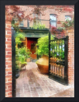 Baltimore - Restaurant Courtyard Fells Point