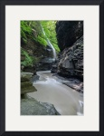 Rainbow Falls at Watkins Glen by D. Brent Walton