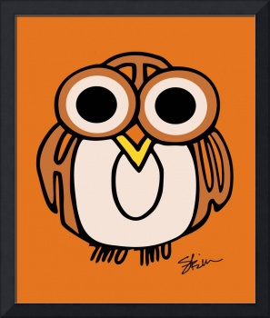 Wide-Eyed Owl Says