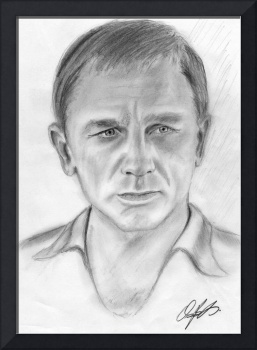 Daniel Craig Drawing