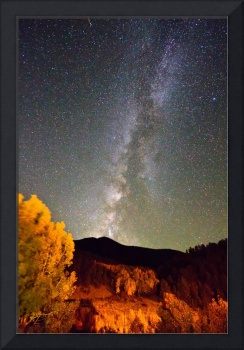 Autumn Milky Way Night Sky