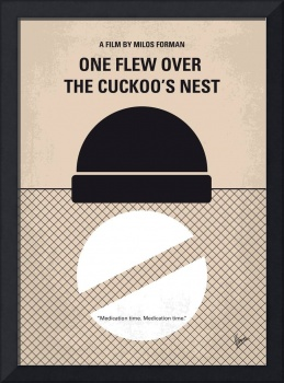 No454 My One Flew Over the Cuckoos Nest minimal