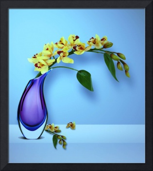 Beautiful Vase of Flowers-3