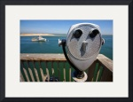 Chatham Fish Pier and Telescope by Christopher Seufert