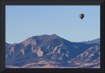 Colorado Rocky Mountain Front Range Hot Air Balloo