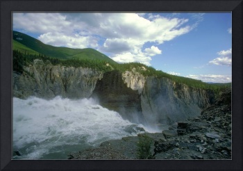 The Sluice Box in Nahanni National Park Canada