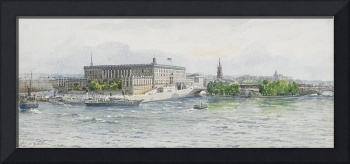 ANNA PALM 1859-1924 View of the Royal Palace