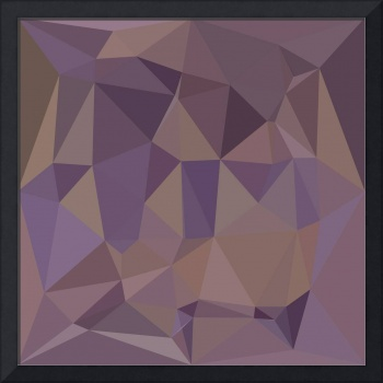 Medium Purple Abstract Low Polygon Background