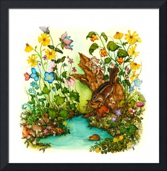 Childrens Whimsical Animal Art