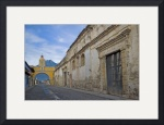 Street and Archway, Antigua Guatemala by Dave Wilson