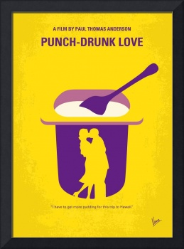 No1022 My Punch-Drunk Love minimal movie poster