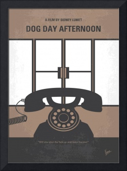 No479 My Dog Day Afternoon minimal movie poster