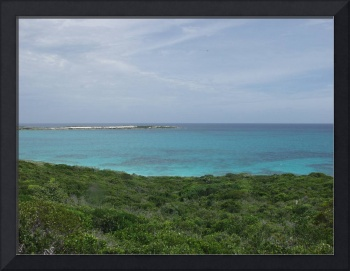 A view from Oceania Heights, Great Exuma