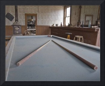 Snooker Table, Bodie Hotel