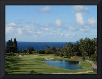 Hawaiian golf course