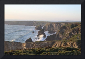 Bedruthan Steps Evening