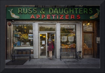 Russ and Daughters Deli in New York City
