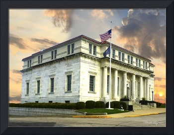 Clark C/ District Courthouse Canvas or Fine Art Pa
