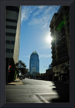 Austin with Frost Building