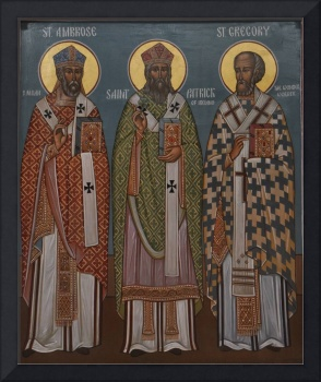 Saint Patrick Ambrose and Gregory