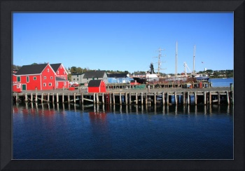 Lunenburg Harbor, Nova Scotia
