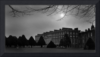 Hampton Court with ghosts