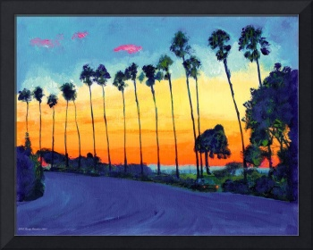 California Sunset By RD Riccoboni